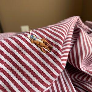 17.5 34/35 XL Ralph Lauren POLO classic fit shirt